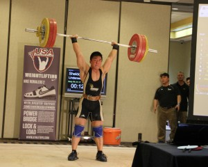 Sheldon Stuckart 158 Clean & Jerk