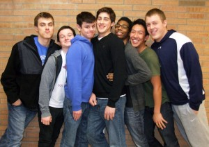 (LEFT TO RIGHT) Adam Sandor, Eoin O'Donnell, Connor Fife, Jabri Johnson, Kevin Wang, Jamie Lackner (Not pictured: Adrian Simion)