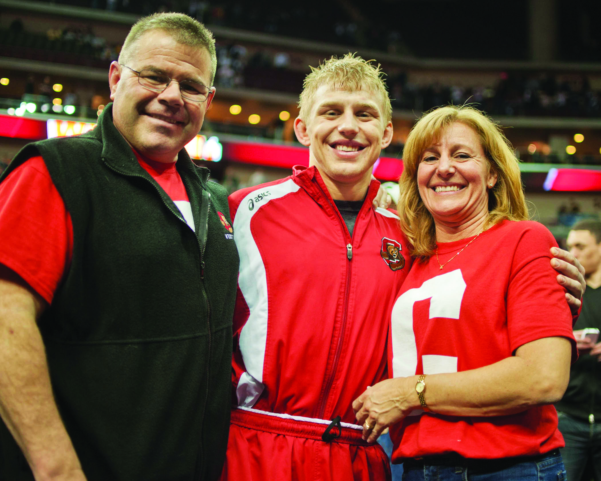 Kyle Dake, Son of '80 WHS Grad Doug Dake, is an Olympian