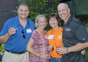 Thom Rogers, Melissa Rogers, Mari Jo Young and Bill Young