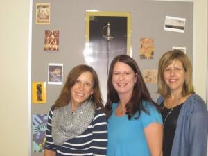 Ann Hasenorhl, Beth Noren and Julie Davidson