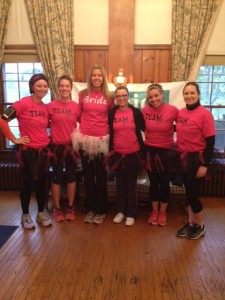 Bride to be, Nikki Smith, bridesmaids, Kasey Lasko, Michele Kensik, Katie Snyder, Carrie Knecht and Abby Miller