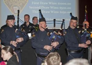 The 4th annual Pete Soto Chili Cook Off to support Lorain County Blue Foundation was highlighted by a stirring performance from the Pipes & Drums of the Cleveland Police at LCCC.
