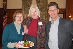 Robert Rensel, his friend Mary Eitzen & Elaine Jensen