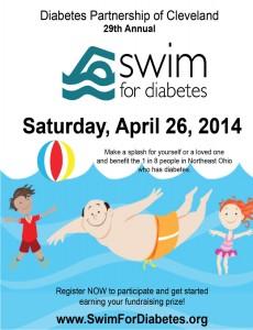 swim for diabetes Villager 5x65