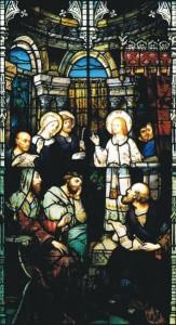 Figure 1—The Child Jesus In the Temple