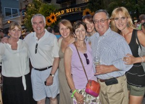 Diana Marvar, Matt Fitzsimmons and Judge Donna Congeni Fitzsimmons with Ray Marvar and friends