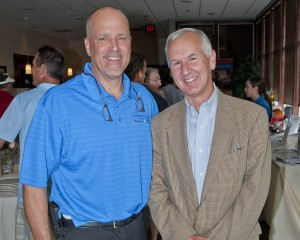 SJMC President & CEO William A. Young with Timothy Doyle, SJMC Leadership Council