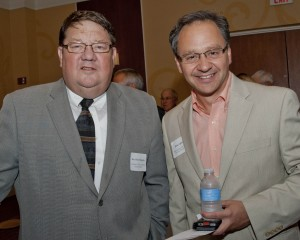 Rev. David Buegler, Community West Foundation Board Member and Brian Upton, Executive Director, Building Hope in the City.