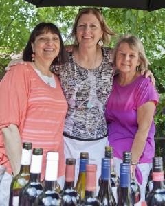 Regina Belardo, Peggy Filippi and Debbie Adams social workers at the Cancer Center Fairview Hospital, Moll Pavilion.