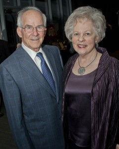 William Baker, Community West Foundation Chair, and his wife, Linda.