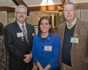 Event co-chair Chris Lynch with Darby Schwartz, Division Vice President Arthritis Foundation, and Christopher Smith, CEO, Great Lakes Region.