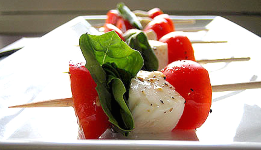 Ingredients: 2 Pints Cherry or Grape Tomatoes; 1 Pound Bocconcini ...