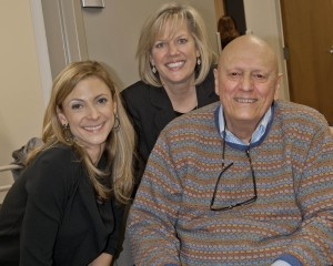 Nancy Wasserbauer, DO, Rocky River Mayor Pamela Bobst and well-known west side pediatrician Dr. Thomas Wasserbauer.