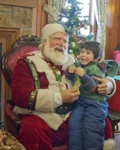 Santa made a special appearance at Bay Village's Community Christmas over the weekend.