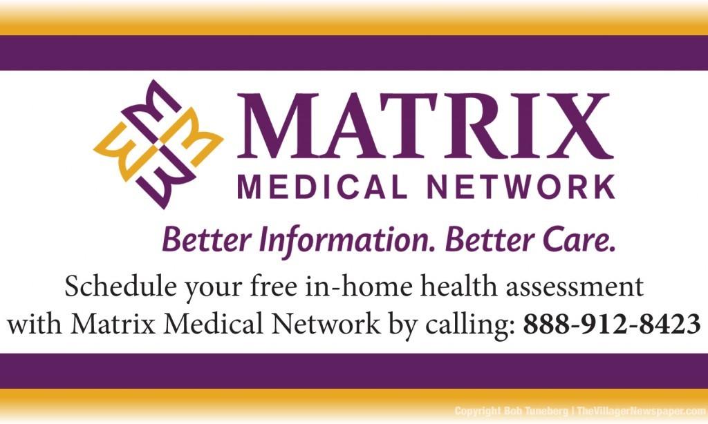 1-22-15 Matrix Medical Network Ad