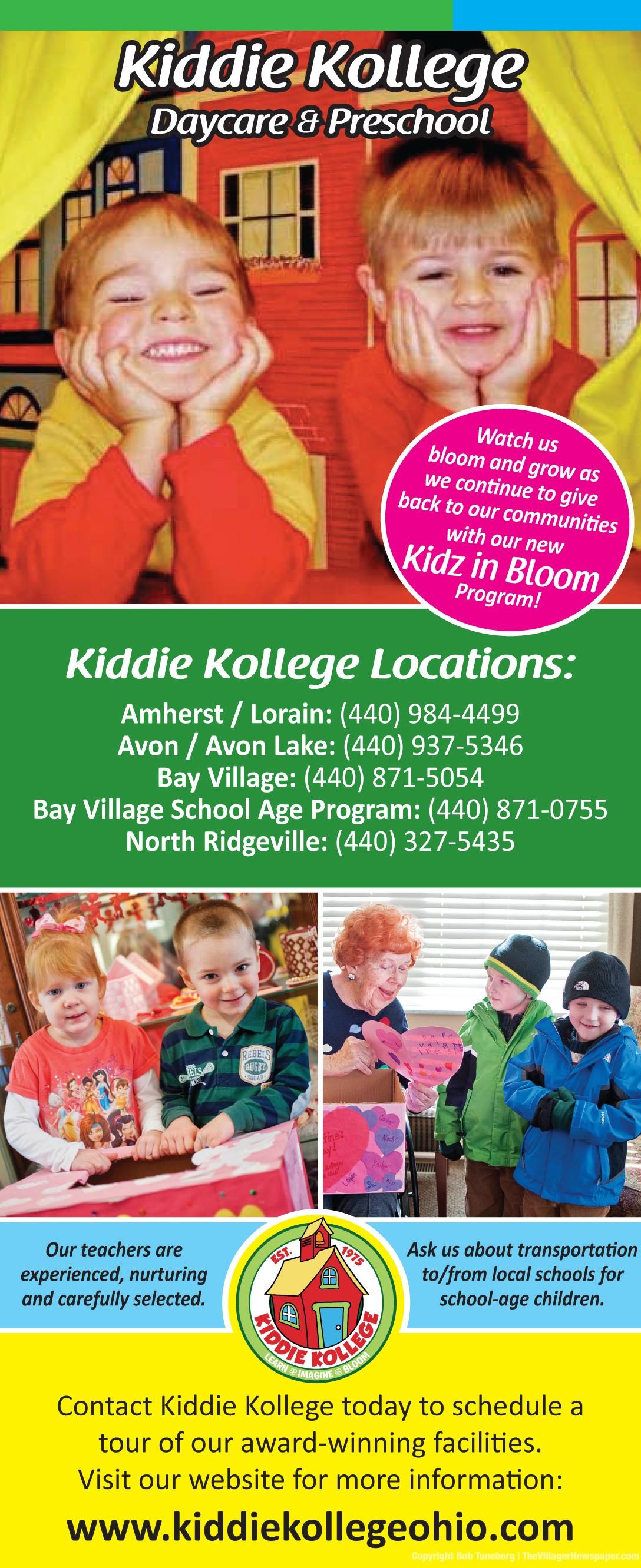 kidz in bloom lift valentine hearts the villager newspaper online 2 19 15 kiddie kollege ad