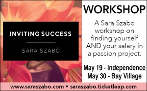 4-30-15 Sara Szabo Inviting Success