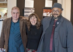 Poets Russell Vidrick, Katie Daley and RA Washington.