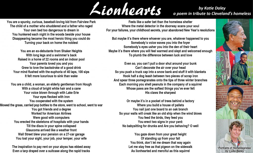 Lionhearts Poem - The Villager Newspaper Online