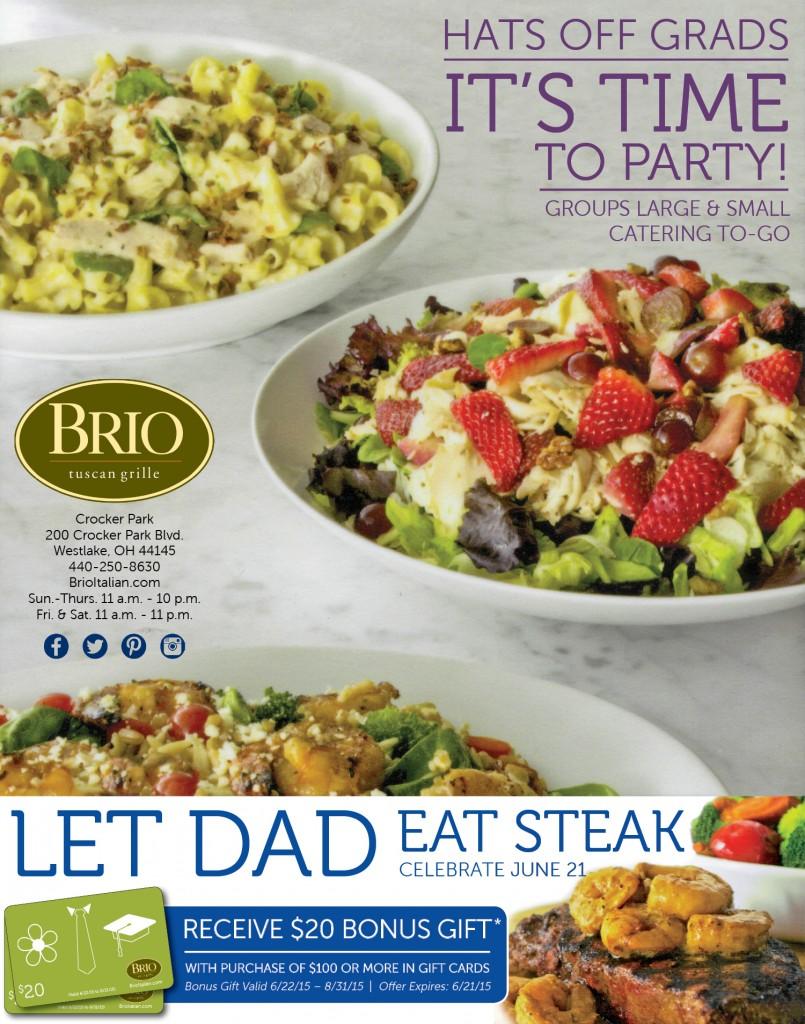Brio Celebrate Dads & Grads