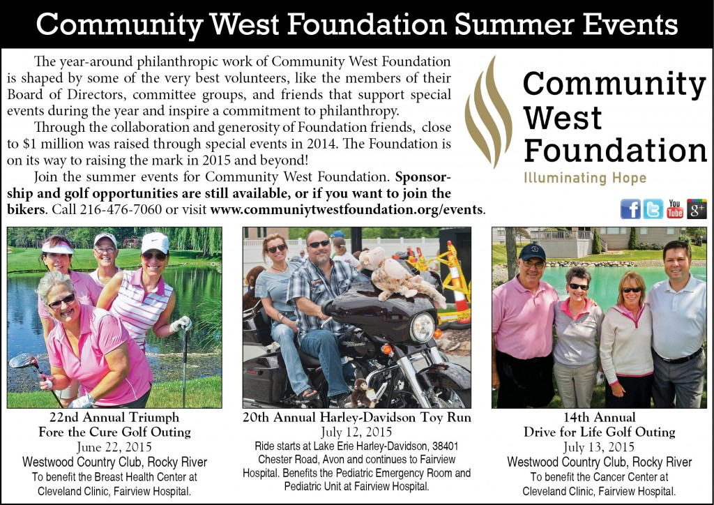 CWF Summer Events