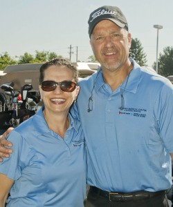 Mary Khouri and SJMC President & CEO William A. Young, Jr.