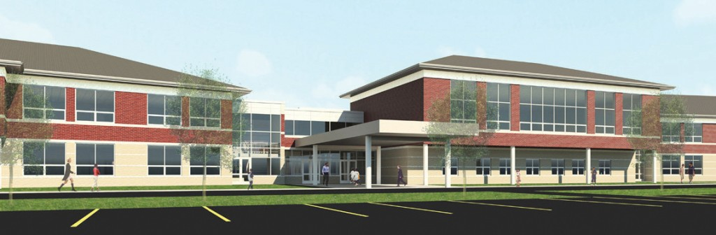 Avon Middle School Rendering