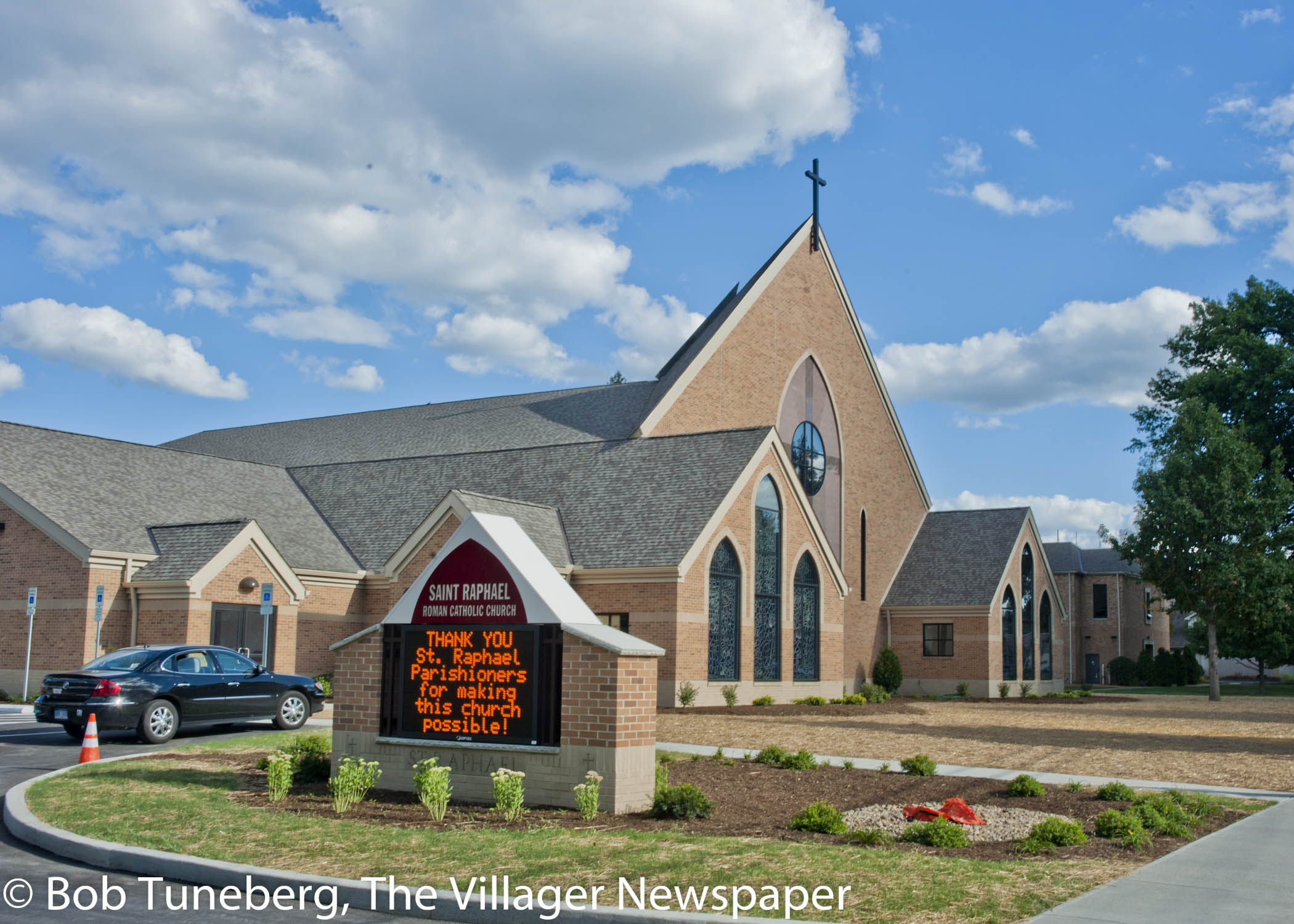 The Dedication of the New St. Raphael Church in Bay Village | The ...