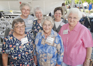 Some of the Sisters of Charity who served SJMC so well.