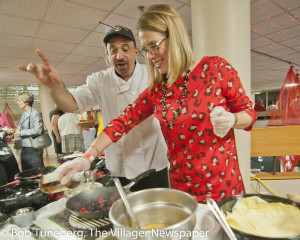 Culinary fun was the theme of the night at Mercy's Annual 'Taste of Friendship'