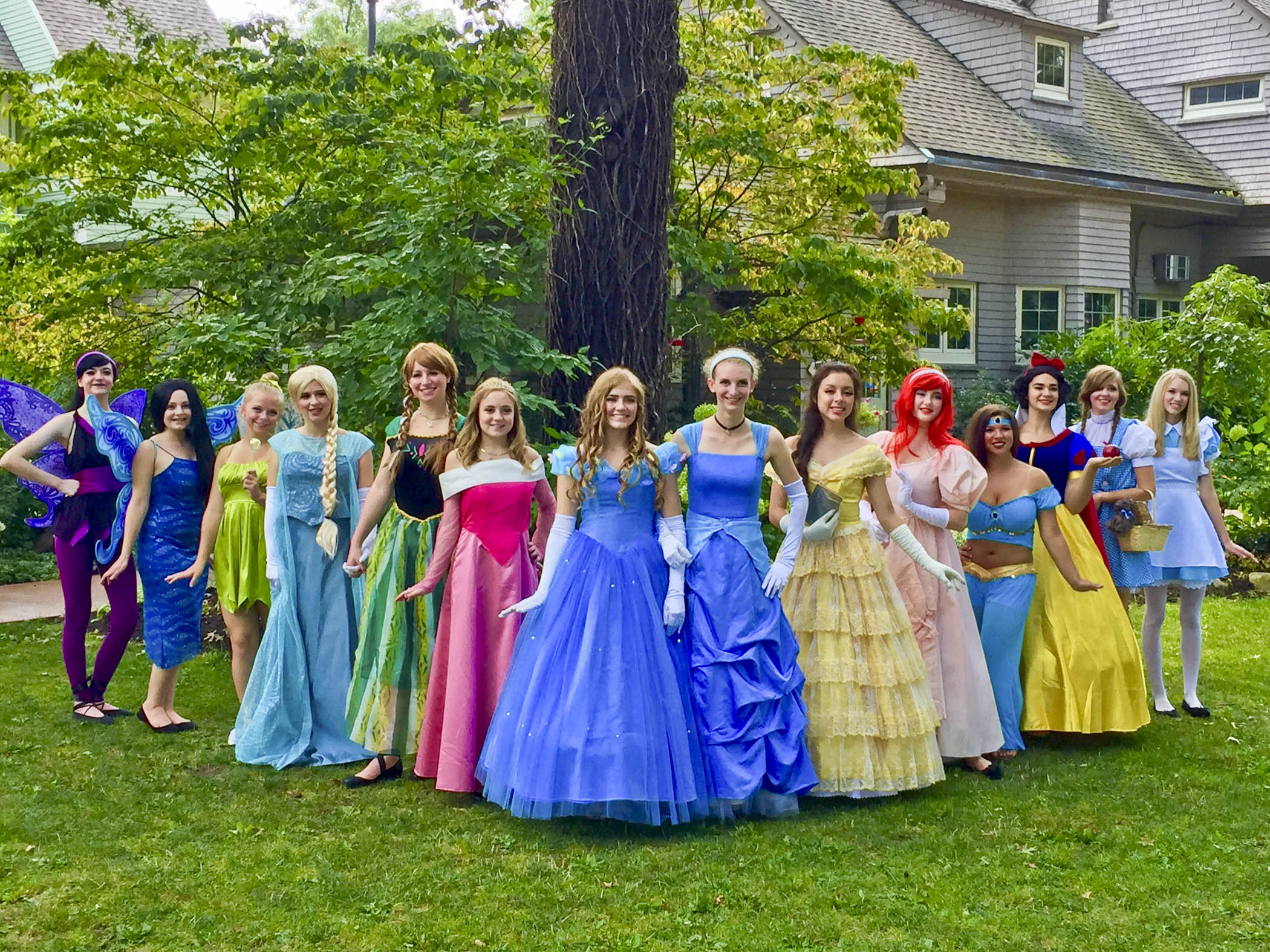 7a6e56612f6 The Fairytale Foundation Princesses will be stopping by this year s  homecoming pancake breakfast on Sunday