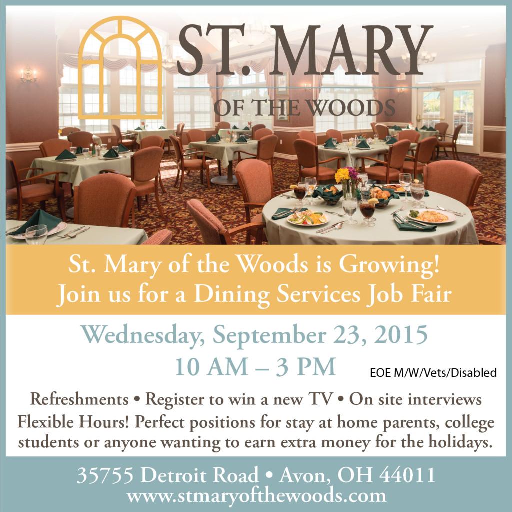 St Mary of the Woods Job Fair 5x5 Ad FINAL