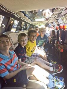 limo ride Redwood-3