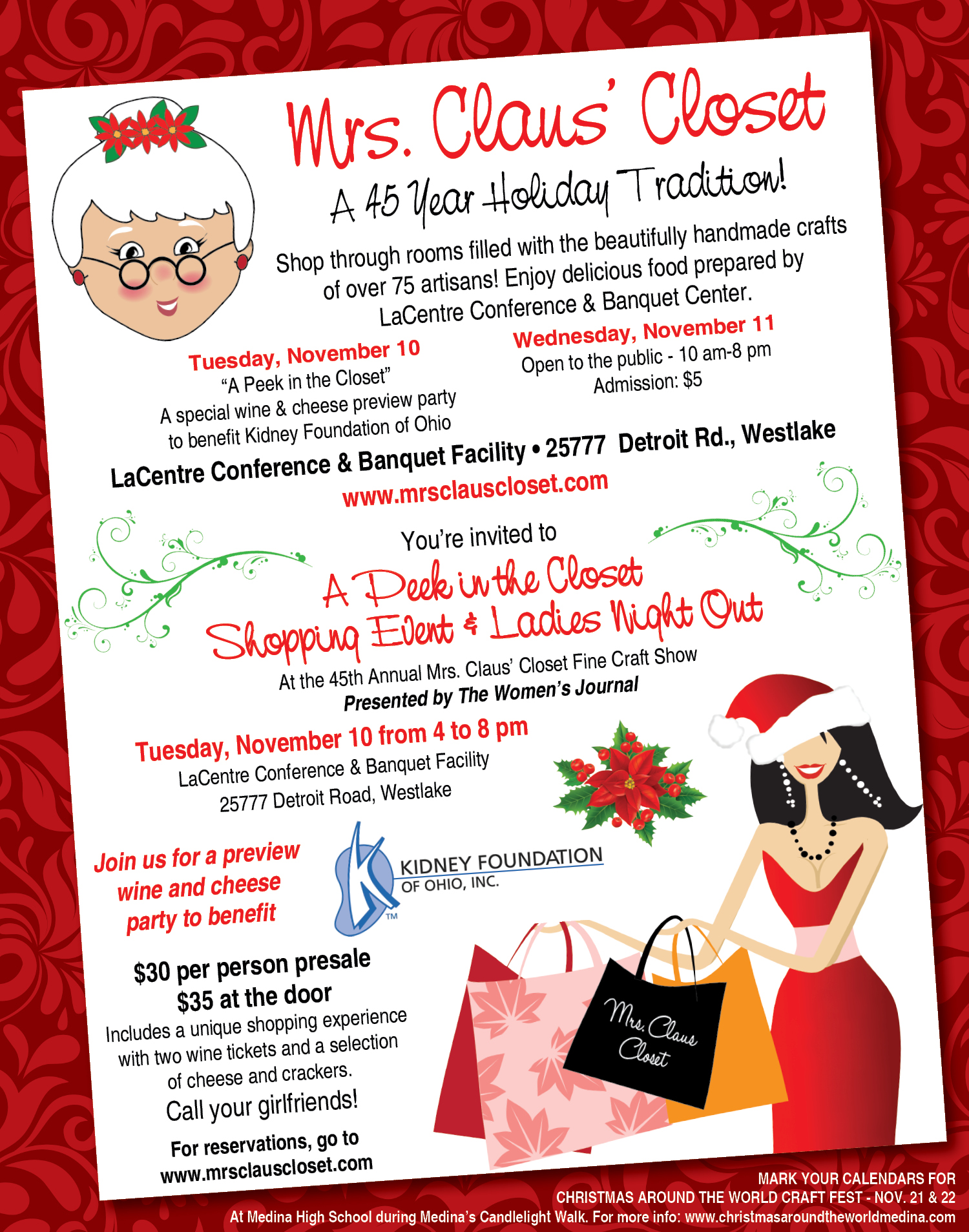 45th Annual Mrs Claus Closet November 10 11 The Villager
