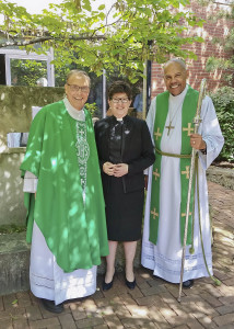 Pastor Dennis Stylski was recognized by Presiding Evangelical Lutheran Church of America Bishop Elizabeth Eaton and Bishop Abraham Allende of the Northeastern Ohio Synod as he stepped down after 38 years at Bethesda-on-the-Bay Lutheran Church Oct. 1.