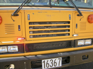 Safety strobe lights have been added to some Bay Village school buses. They measure five inches wide, flash red and white, and are placed at motorists' eye level.