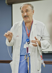 Cardiologist Naim Farhat, MD, explains the workings of the incredible Impella heart pump that kept Amanda Van Schoor alive for 9 days while her heart recovered from cardiac arrest.