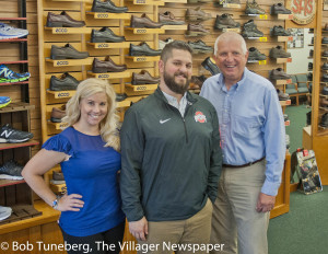 Rosie and Jeff Johnson will continue the 50-year old tradition of quality footwear for the community at Arthur's Shoe Tree in Bay Village. They are seen here with long-time owner Jerry Masisak, who retired in July.