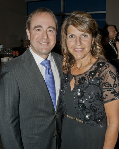 Dr. Donald Malone, President, Lutheran Hospital with his wife, Jennine.
