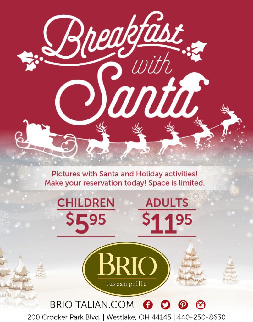 Brio Santa Breakfast