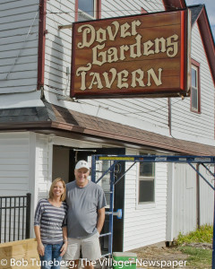 Owners Gary and Erica Hurst are reopening Dover Gardens Tavern