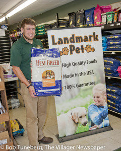Westlake Landmark Manager Bill Quallich invites you in for the best in pet products.
