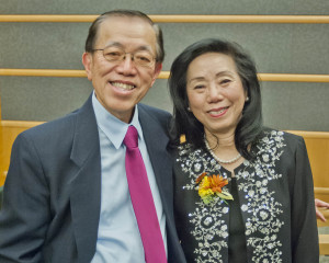 Andy Yap and his wife, Dr. Cecelia Yap.