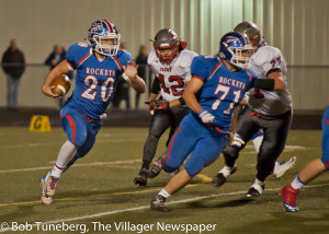 Bay's Nick Best (20) blasted his way into the record books this year.