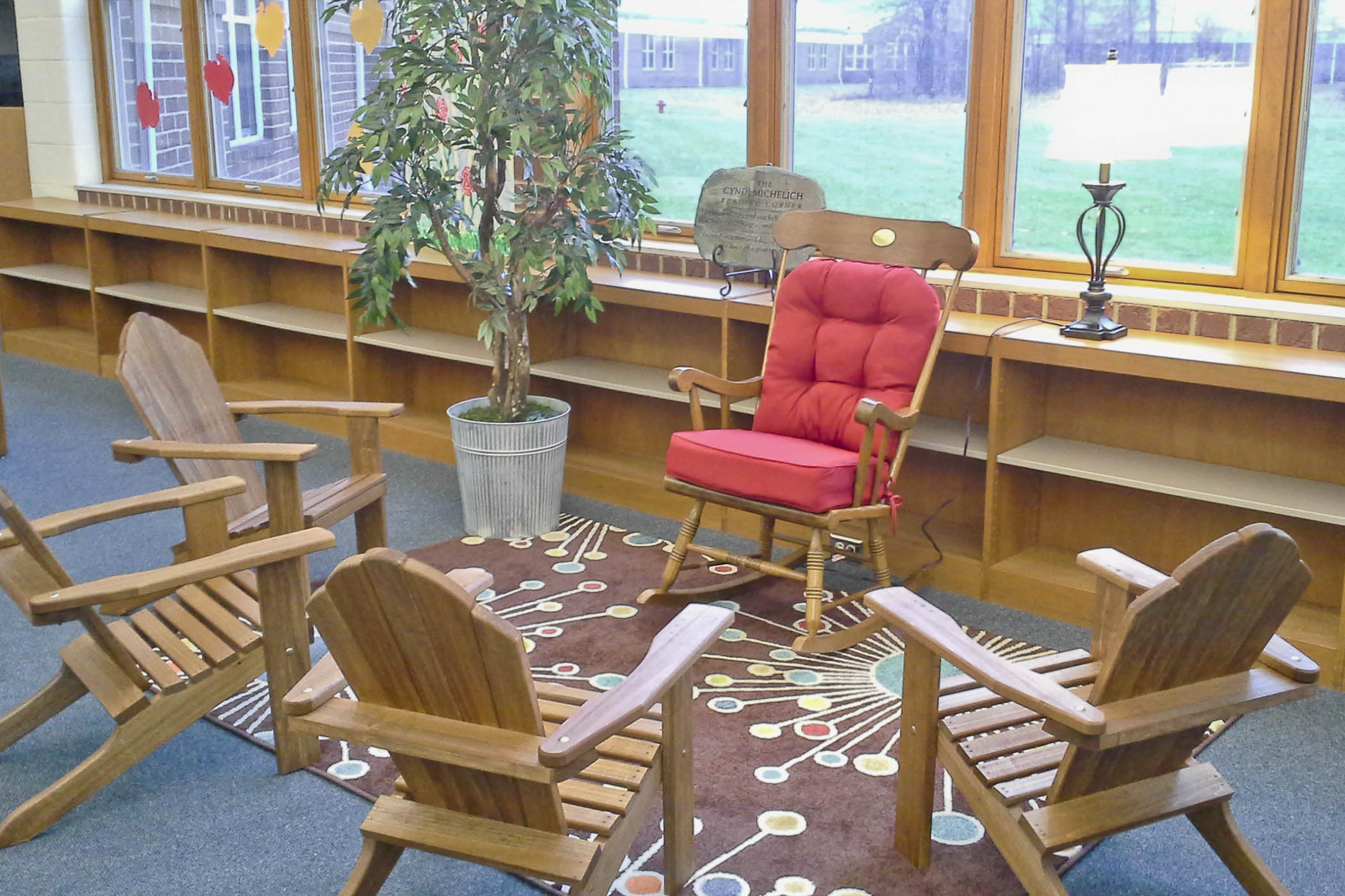 Reading Corner Dedicated In Memory Of Mrs. Michelich