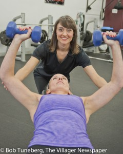 Danielle Conte, CPT, offers Personal Training to Avenue Fitness members.