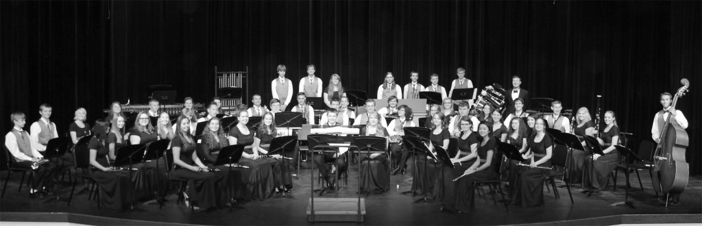 Avon High School Wind Ensemble. Credit Avon Local Schools