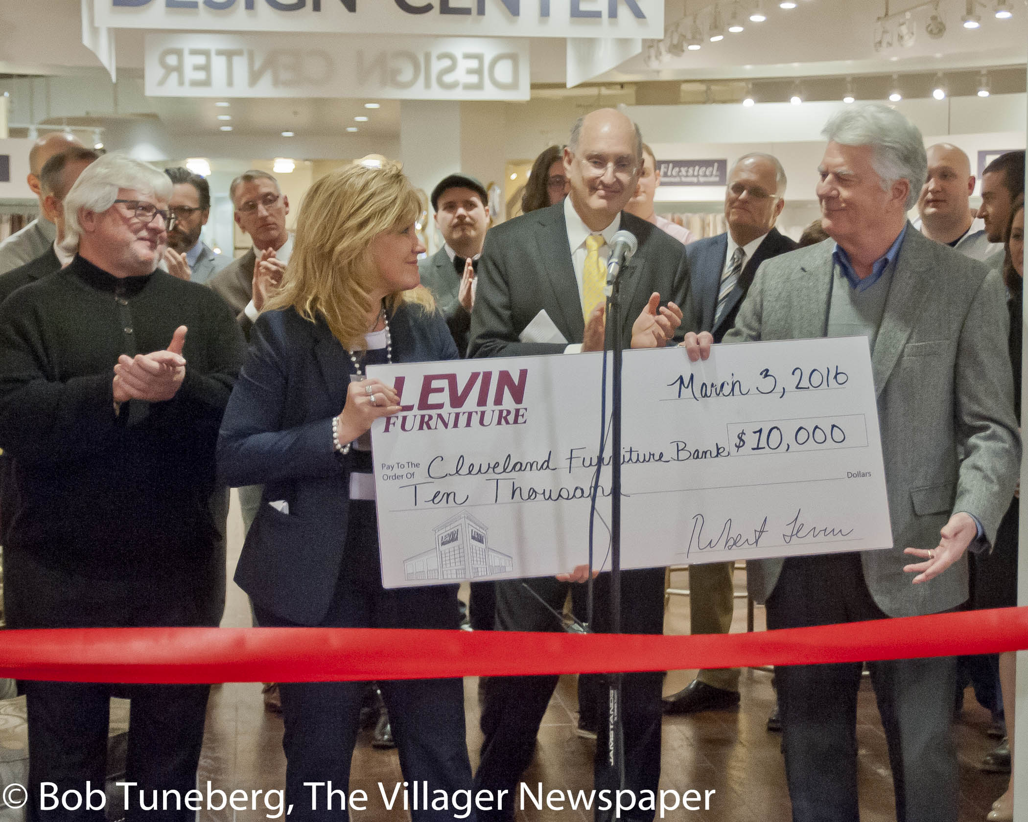 The Grand Opening Of Levin Furniture In Avon This Month Was A Celebration  For The Community As Well As Charitable Organizations Supported By The  Store.