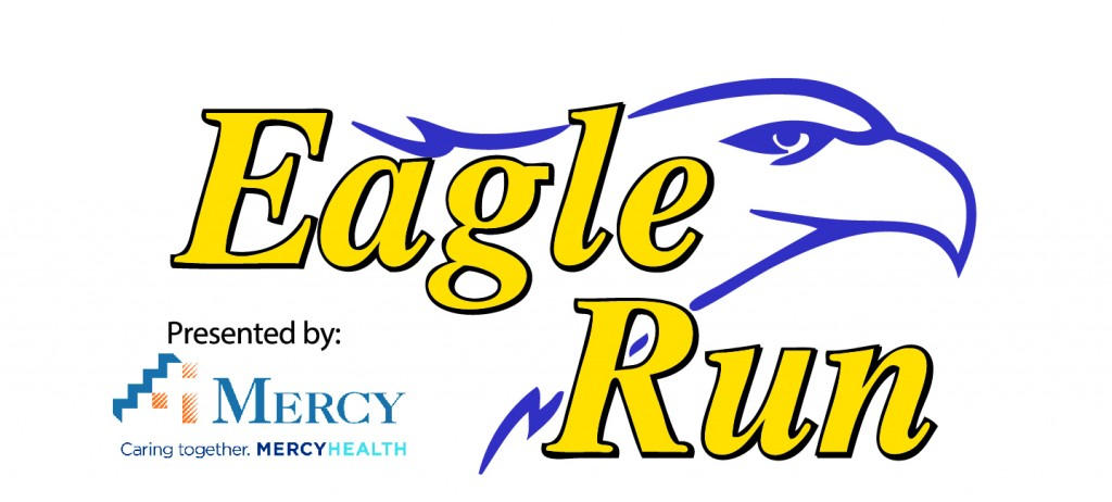 Eagle Run with Mercy Logo